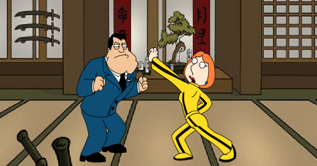 American Dad vs Family Guy Kung Fu